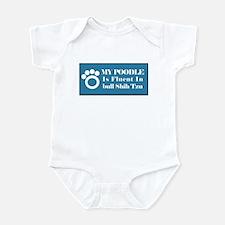 Poodle Bull Infant Bodysuit
