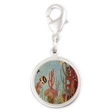Vintage Tropical Fish and Coral Charms