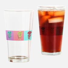 Lab Warhol 3 Panel Drinking Glass