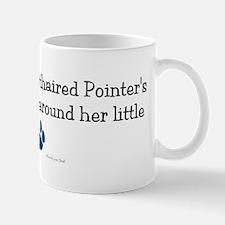 Wrapped Around Her Paw (German SH Pointer) Mug