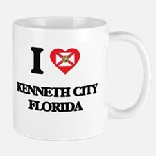 I love Kenneth City Florida Mugs