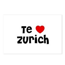 Te * Zurich Postcards (Package of 8)