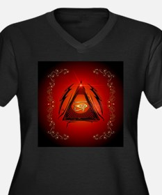 The all seeing eye Plus Size T-Shirt