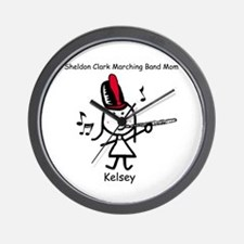 Band Mom - Kelsey Wall Clock