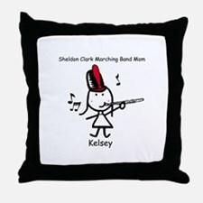 Band Mom - Kelsey Throw Pillow