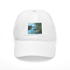 Canoe Painting Baseball Cap