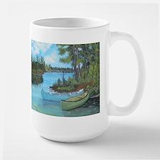 Canoe Painting Mug
