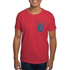 Bony Rock Hand Color T-Shirt