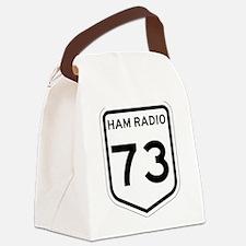 VK 73 B+W Canvas Lunch Bag