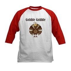 Gobble Gobble Kids Baseball Jersey