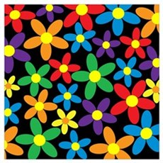 Flowers Colorful Poster