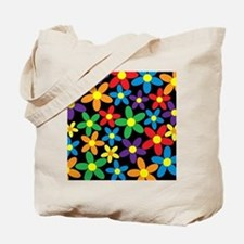 Flowers Colorful Tote Bag