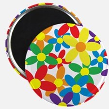 Flowers Colorful Magnet