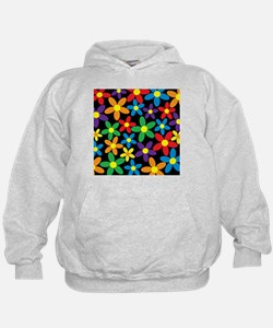 Flowers Colorful Hoodie