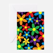 Flowers Colorful Greeting Cards