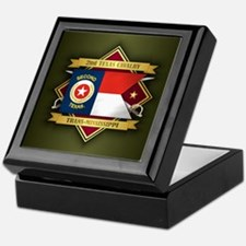 2nd Texas Cavalry Keepsake Box