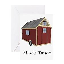 Mine's Tinier Greeting Card