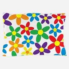 Flowers Colorful Pillow Case