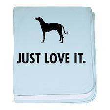 Plott Hound baby blanket