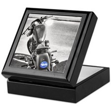 yes motorcycle Keepsake Box