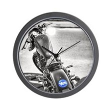 yes motorcycle Wall Clock