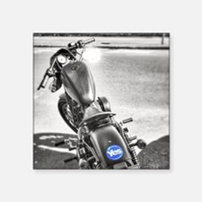 """yes motorcycle Square Sticker 3"""" x 3"""""""