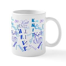 Knit Blue Light Mug