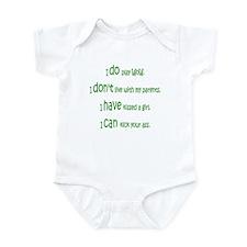 WoW Rules Infant Bodysuit