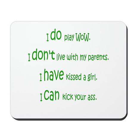 WoW Rules Mousepad