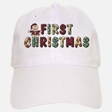 First Christmas Baseball Baseball Cap