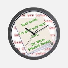 Welsh Springer Nice Wall Clock