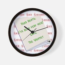 Whippet Nice Wall Clock