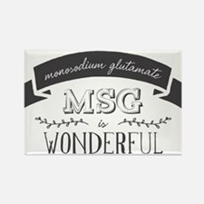 MSG is Wonderful Rectangle Magnet