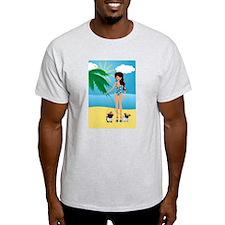 Pug Lady Logo T-Shirt