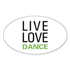 Live Love Dance Decal