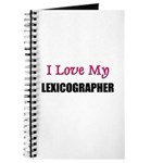 I Love My LEXICOGRAPHER Journal