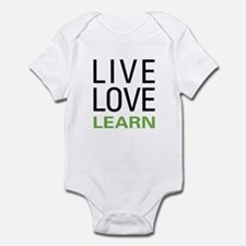 Live Love Learn Infant Bodysuit