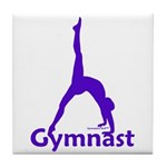 Gymnastics Tile Coaster - Gymnast