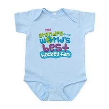 Grandpa Hockey Fan Infant Bodysuit