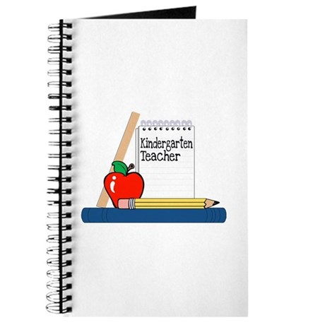 Kindergarten Teacher (Notebook) Journal