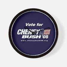 The Cheney-Bush 08 Clock