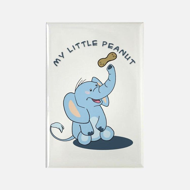 My Little Peanut Rectangle Magnet