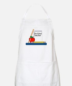 Pre-School Teacher (Notebook) BBQ Apron