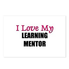 I Love My LEARNING MENTOR Postcards (Package of 8)