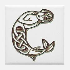 Monogram Celtic Tile Coaster