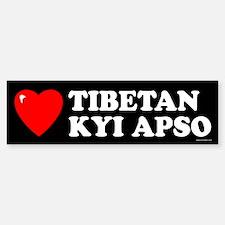 TIBETAN KYI APSO Bumper Bumper Bumper Sticker