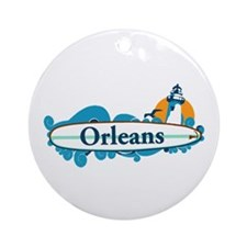 Orleans - Cape Cod. Ornament (round)