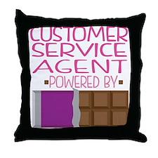 Customer Service Agent Throw Pillow