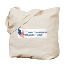 TOMMY THOMPSON for President Tote Bag