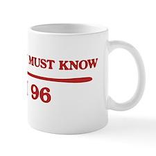I am 96 Mug